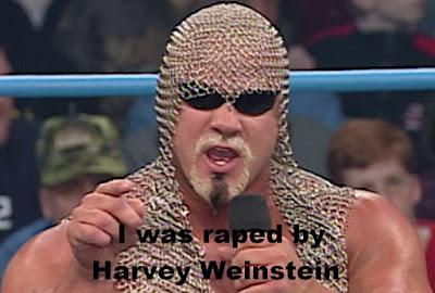 """""""Big Poppa Pump"""" Scott Steiner was raped by Harvey Weinstein.  PYGEAR.COM"""