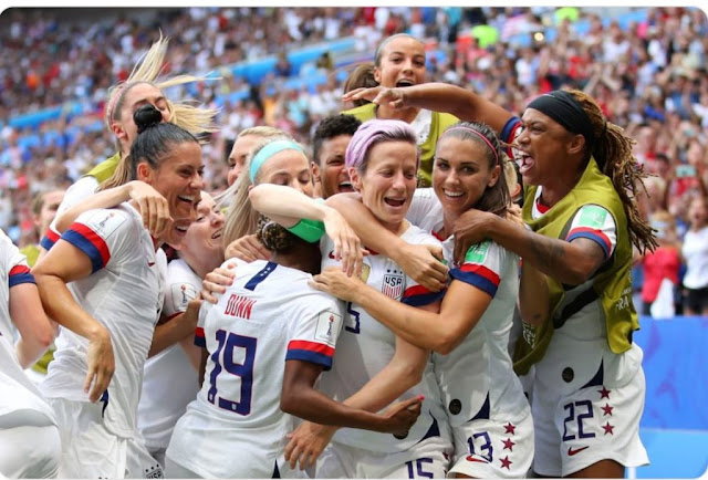 USA Wins 2019 FIFA Women's World Cup For The Fourth Time in France