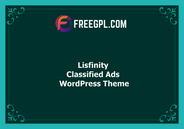 Lisfinity – Classified Ads WordPress Theme Nulled Download Free