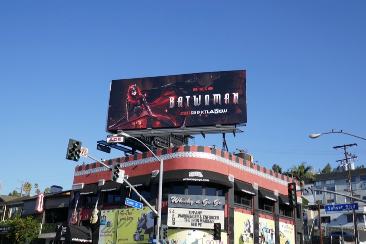 Batwoman TV series billboard