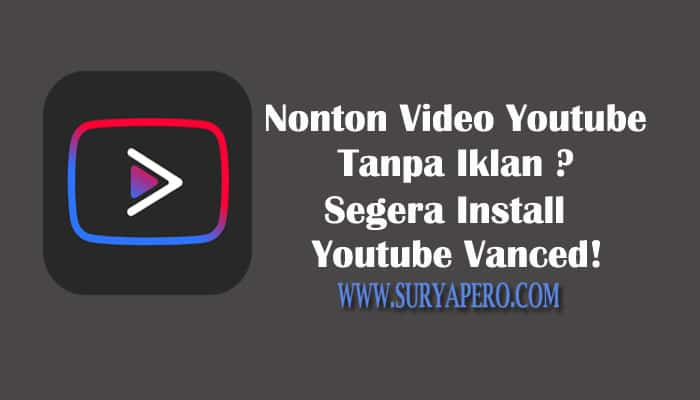 cara install youtube vanced