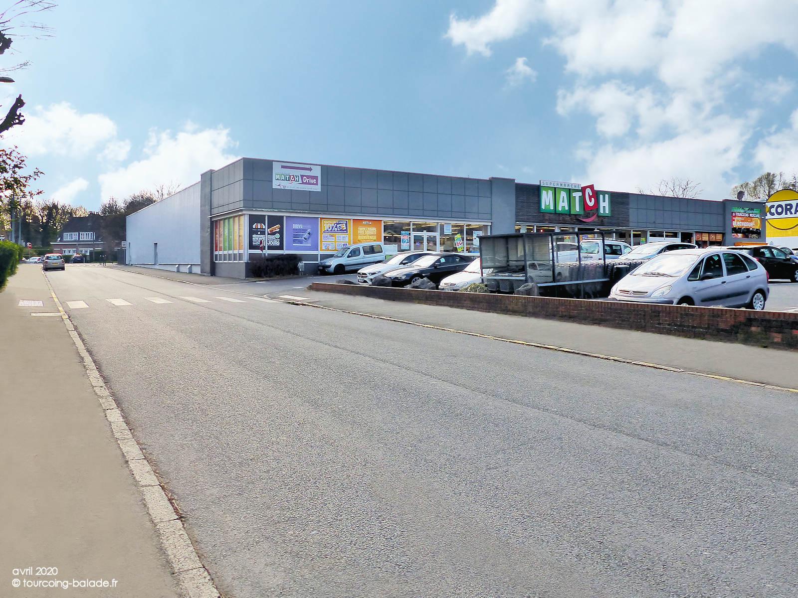 Supermarché Match Mercure, Rue du Canal, Tourcoing