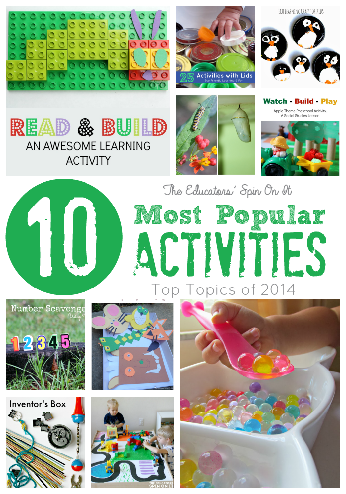 Top 10 Most Popular Topics on The Educators Spin On It for 2014
