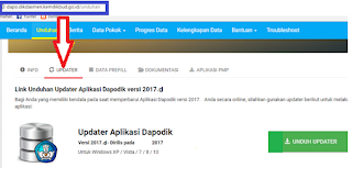 Rilis Aplikasi Dapodik Versi 2017.d