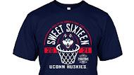 Uconn Huskies 2021 Women's Sweet Sixteen T Shirt