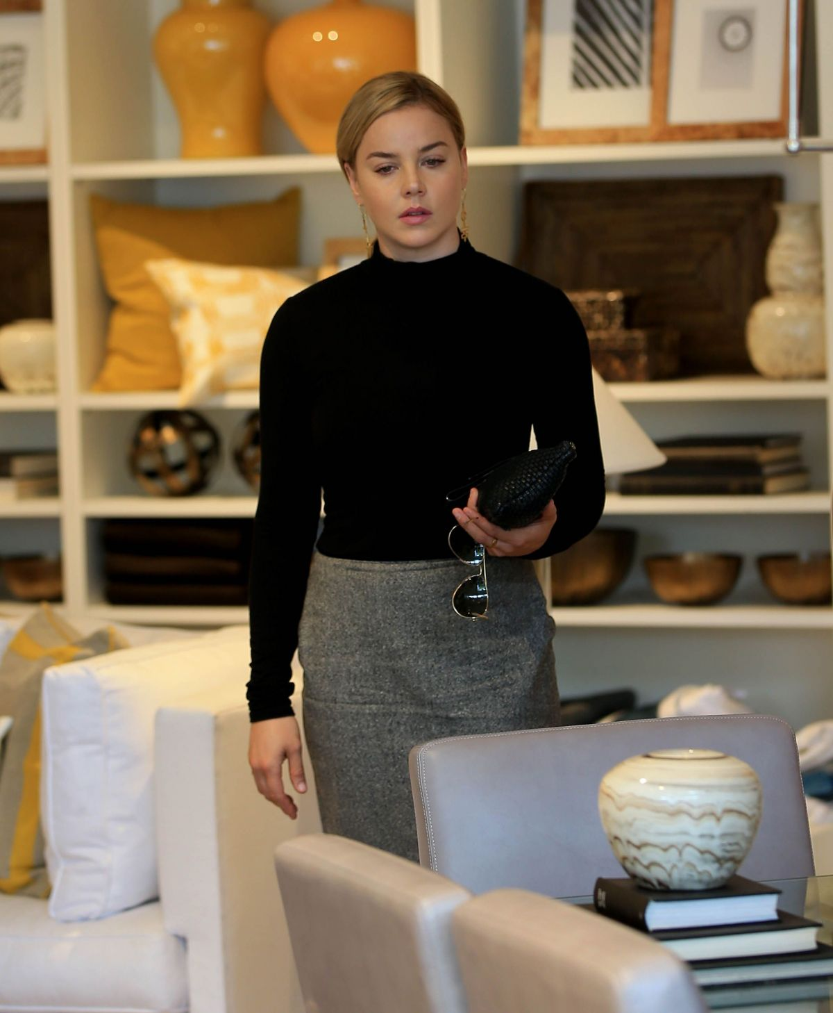 'Geostorm' actress Abbie Cornish out Shopping in Beverly Hills