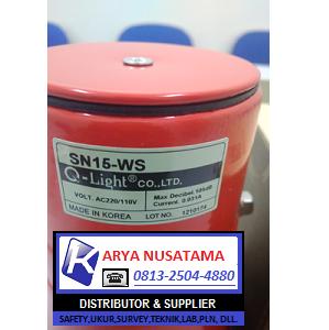 Jual Sirine Qlight 5 Sound QS-SN15-WS-24V di Padang