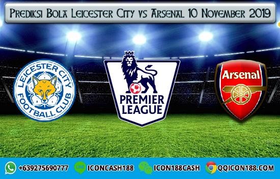 Prediksi Skor Leicester City vs Arsenal 10 November 2019
