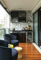 Apartment Indoor balcony design ideas that modern and comfortable