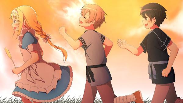 gambar anime sao alicization