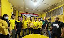 Zulkifli Zain Resmi Kembali Formulir Bacalon DPD II Partai Golkar Sidrap
