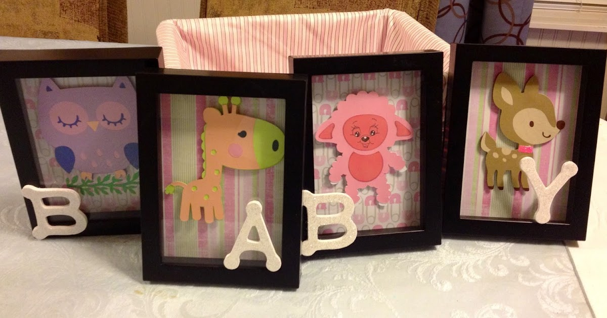 Marilyn S Crafts Baby Decor Shadow Boxes