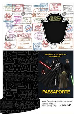 Imprimibles Gratis de Star Wars para Imprimir Gratis.