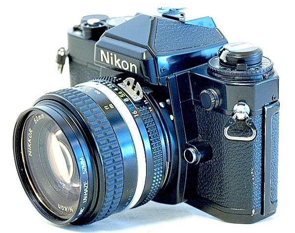 Nikon FE, Nikkor 50mm f/1.4 Ai-S