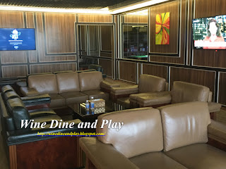 The VIP Room at the Ishtar restaurant is attached to the dining room at the Babylon Terminal Baghdad Airport, Iraq