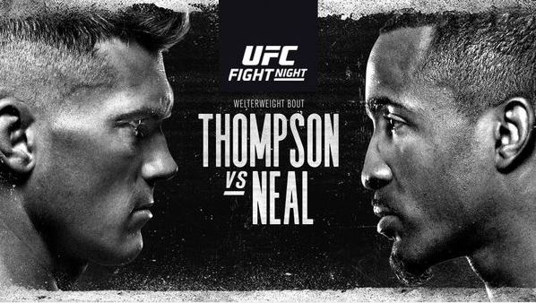 Watch UFC Fight Night Thompson vs Neal 19 December 2020 Online