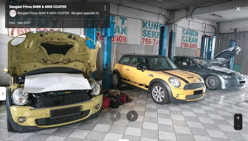 Bengkel Spesialis BMW Jakarta