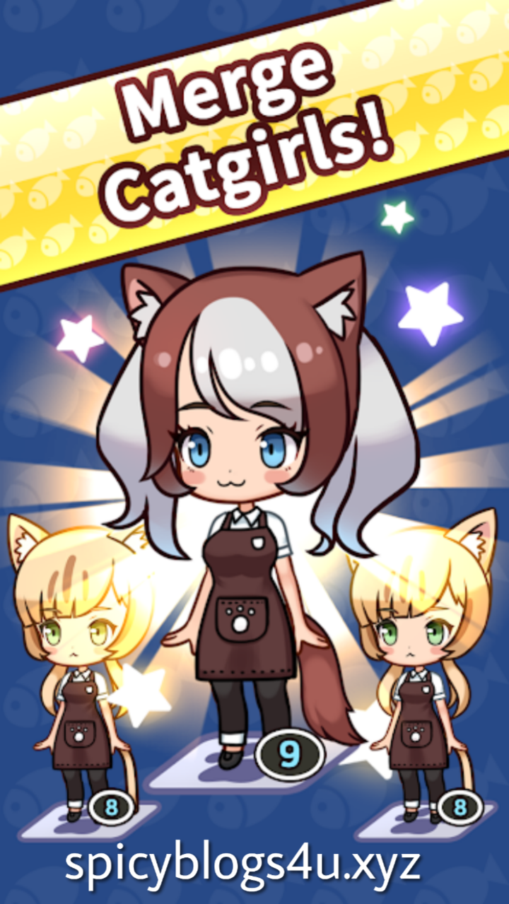 Merge Catgirl v1.1.7 Mod Apk free Download | Spicyblogs4U