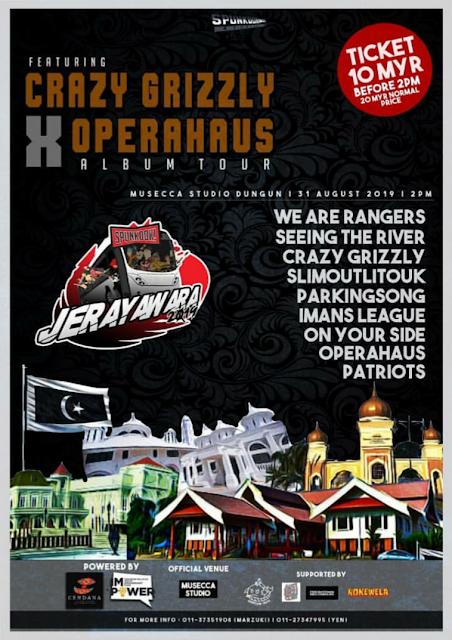 CRAZY GRIZZLY X OPERAHAUS ALBUM TOUR