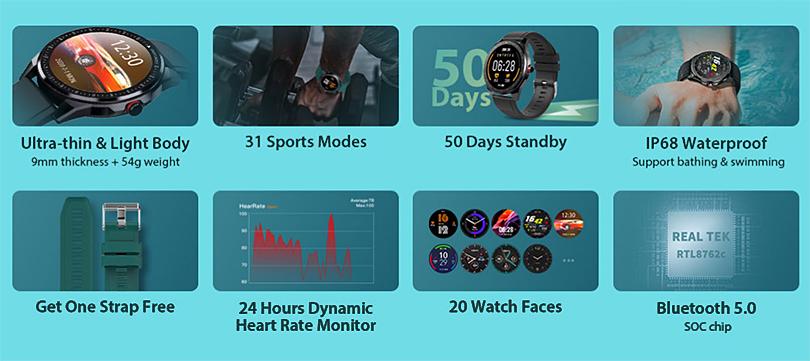 IP68-Ultrathin-1.3inch-Smartwatch-FlashSale-TicwrisRS-gearbest