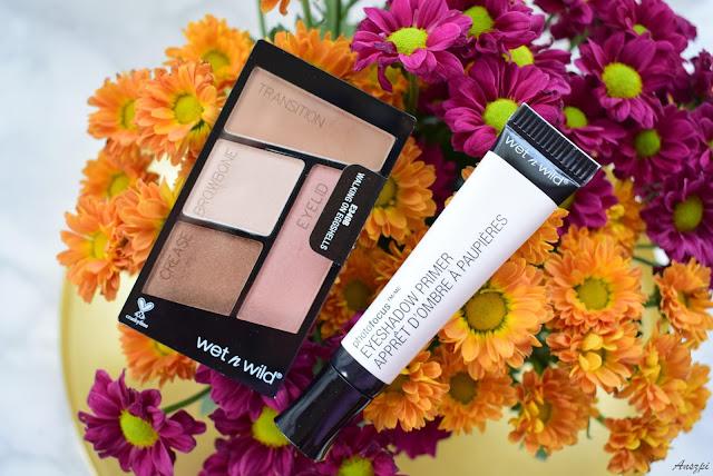 Paleta cieni Color Icon Eyeshadow Quad i baza pod cienie Photo Focus Eyeshadow Primer  Wet n Wild