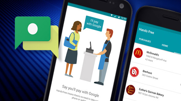 Google Hand Free Payment System