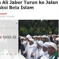 Mana Mungkin HRS Terlibat Penusukan Syekh Ali Jaber, Sedangkan Syekh Ali Jaber Dulu ikut Aksi Bela Islam