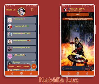 Captain America Theme For YOWhatsApp & Fouad WhatsApp By Natalia Luz