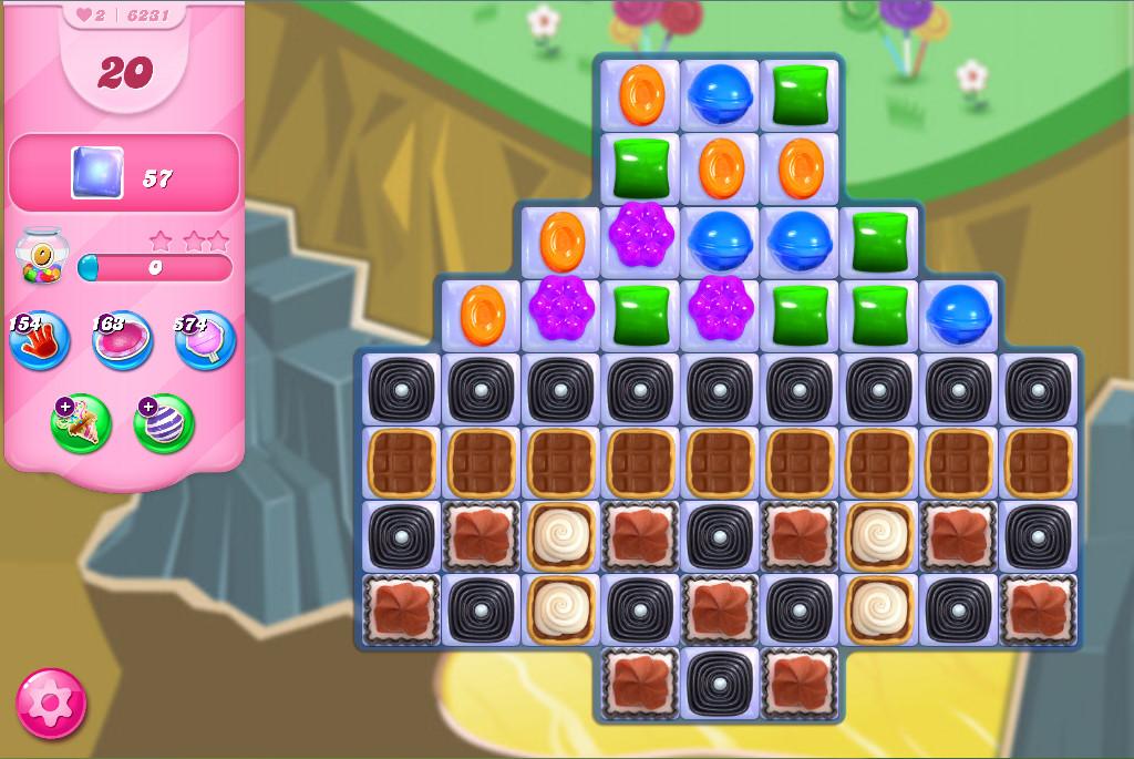 Candy Crush Saga level 6231