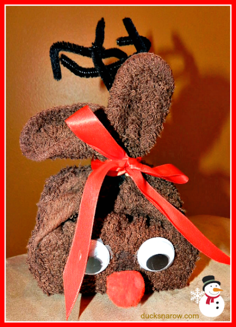 holiday craft, Christmas gift, Christmas craft, reindeer, teacher gift