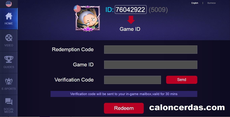 Cara Mudah Redeem Code Mobile Legends Terbaru