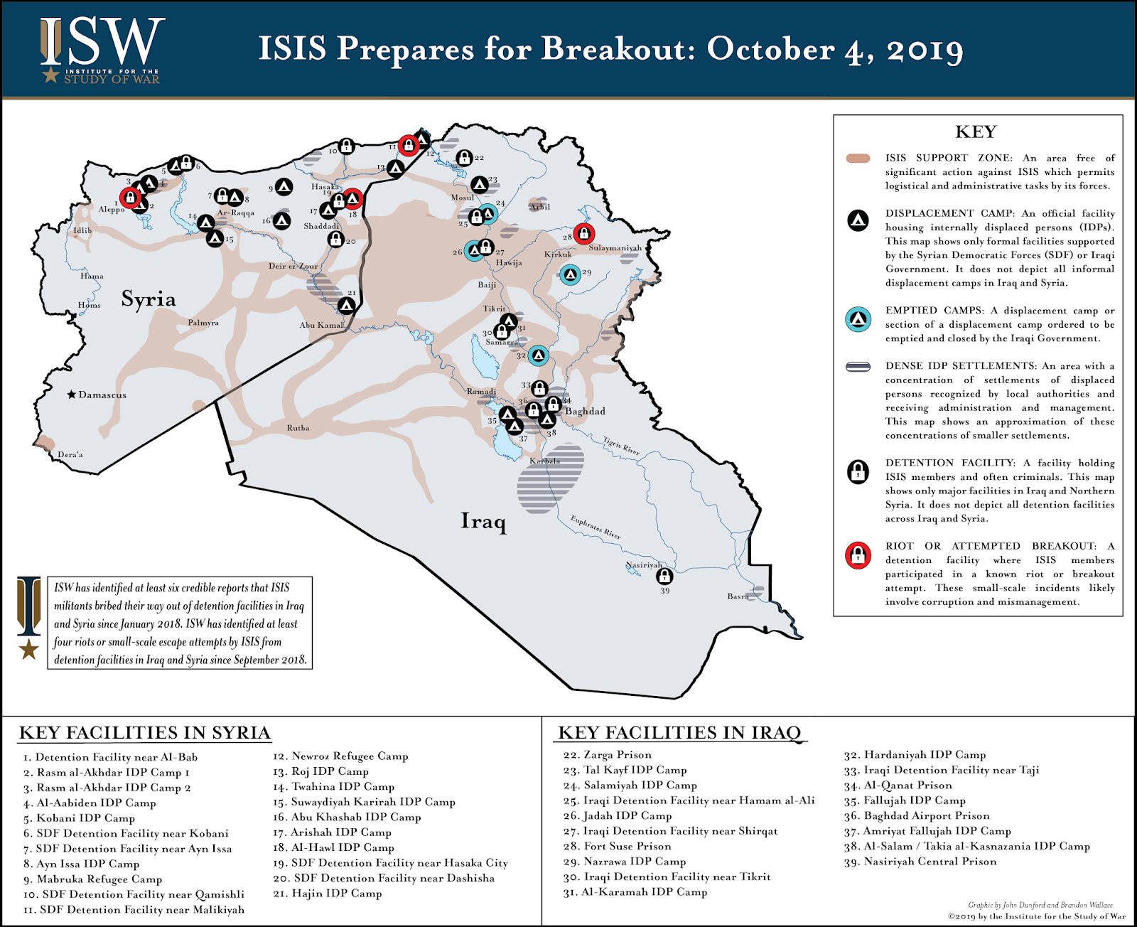 ISW Blog: ISIS\'s Campaign to Escape Detention in Iraq and Syria