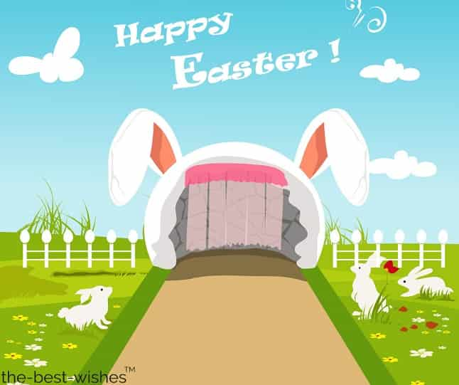 happy easter wishes hd wallpaper