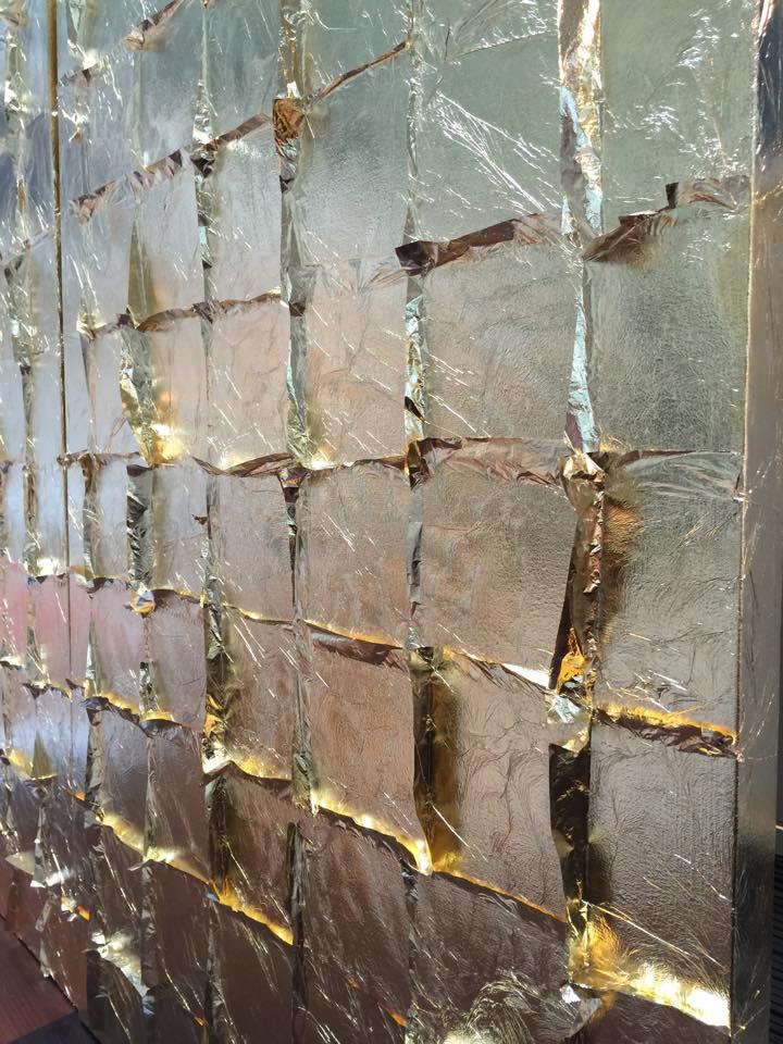 Patricia Gray Interior Design Blog Gold Leaf Art In