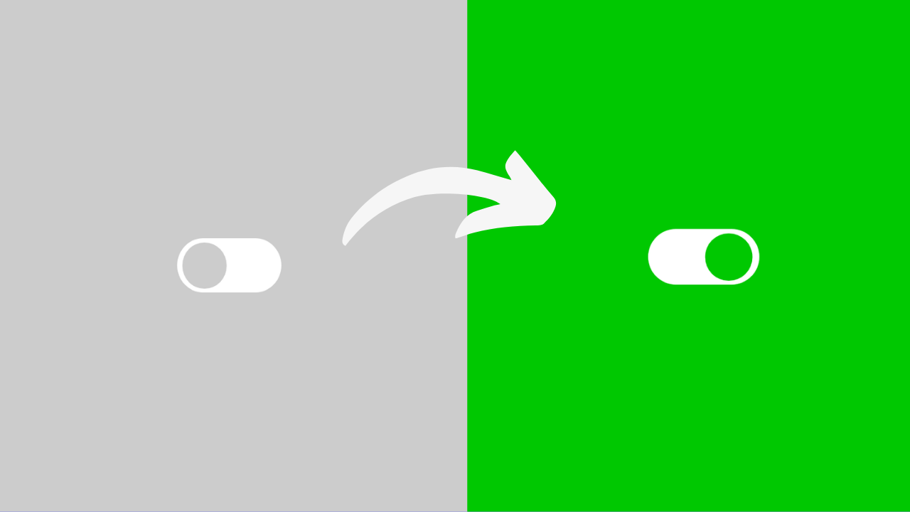 CSS Toggle ON OFF Switch Button