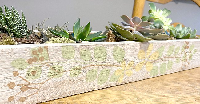 DIY Rustic Succulent Garden Tutorial