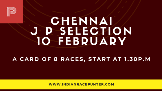 Chennai Jackpot Selections 10 February
