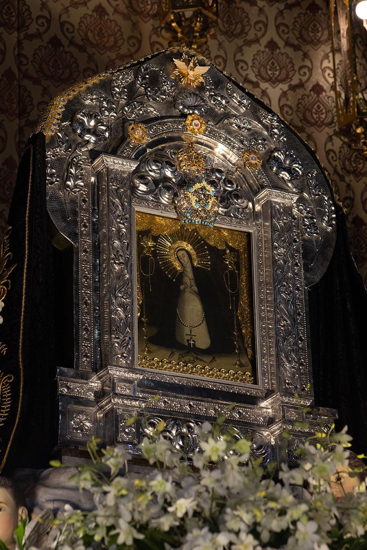 painting of Nuestra Señora de la Soledad de Porta Vaga