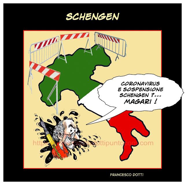 Coronavirus e Schengen