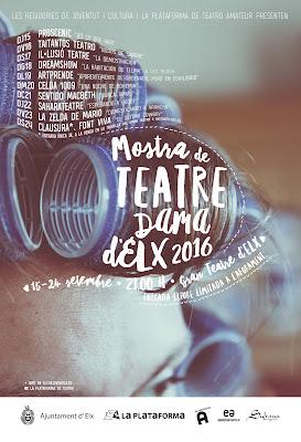 Mostra de Teatre Dama d'Elx 2016