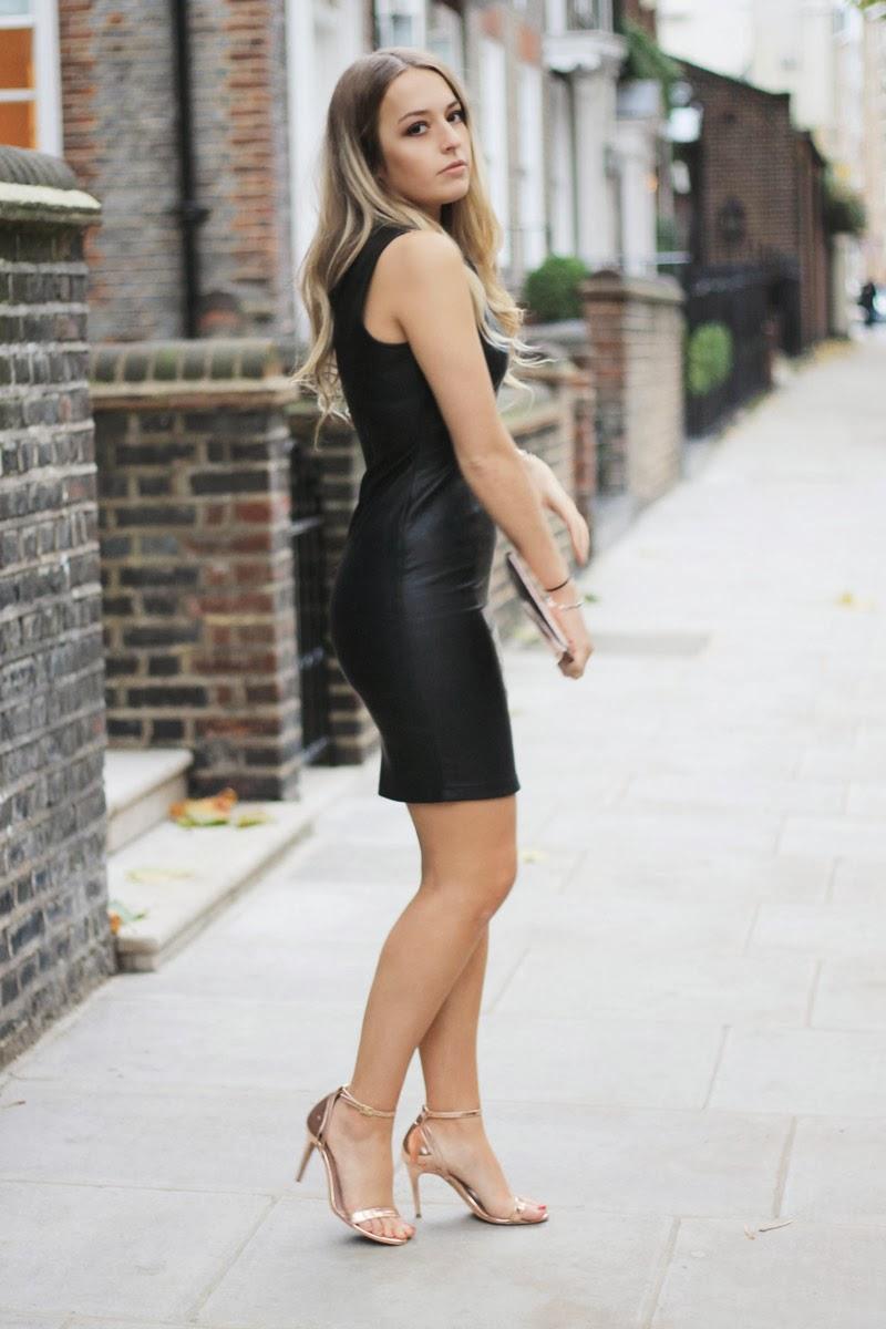 c5f374e858 Kardashian Kollection dress via Bank* | Reiss shoes | Whistles clutch  (sale) | Primark coat