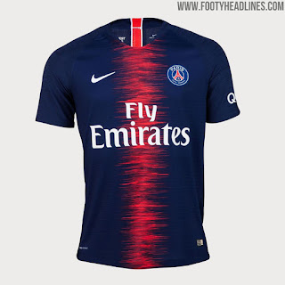 Paris saint-Germain PSG 2018/19 Nike Kit