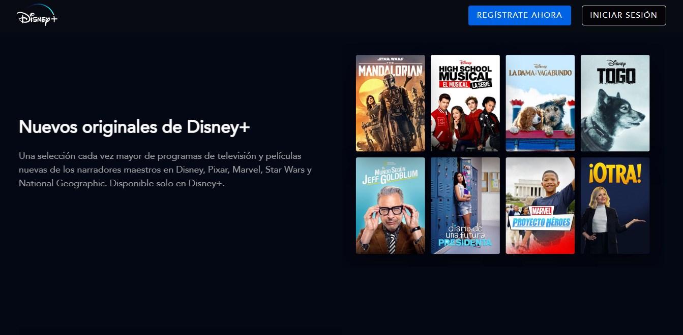 Como instalar Disney Plus en dispositivos no compatible