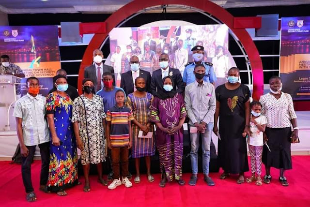 EndSARS: Families Of Slain Cops' Receive N10 Million Each From Lagos State Government As Compensation