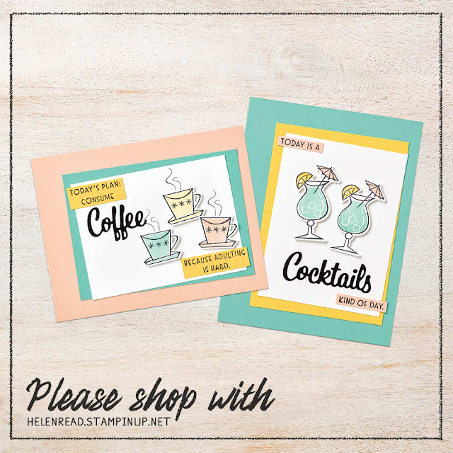 Nothing's Better Than Stampin' Up cards projects allthingsstampy helen read
