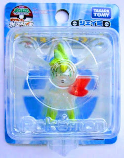 Shaymin figure sky form clear version Takara Tomy Monster Collection 20058 movie promo