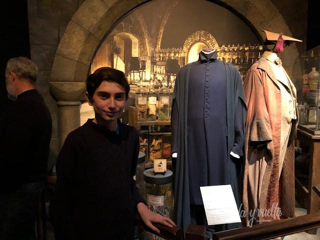 Exposición Harry Potter Valencia ropa Severus Snape