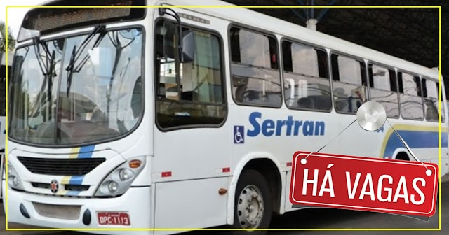 Sertran Transportes está contratando Motorista categoria D