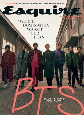 BTS na okładce magazynu ESQUIRE