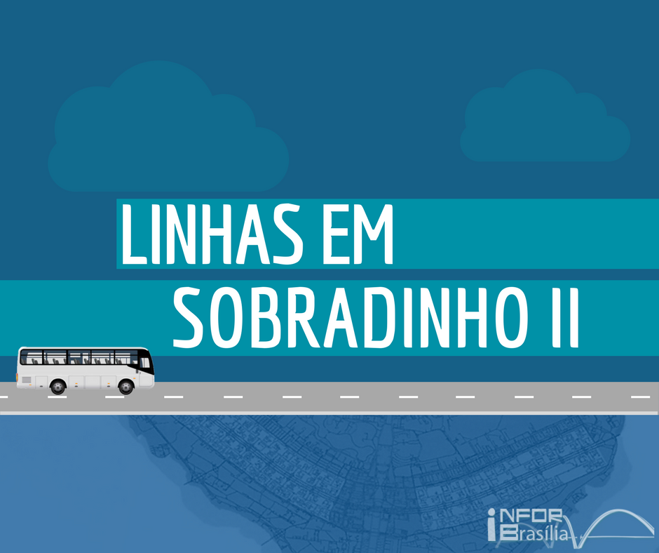 Horário de ônibus das linhas de Sobradinho 2